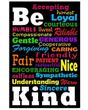 Be Kind 11x17 Poster front