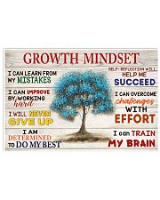 Growth mindset 17x11 Poster front