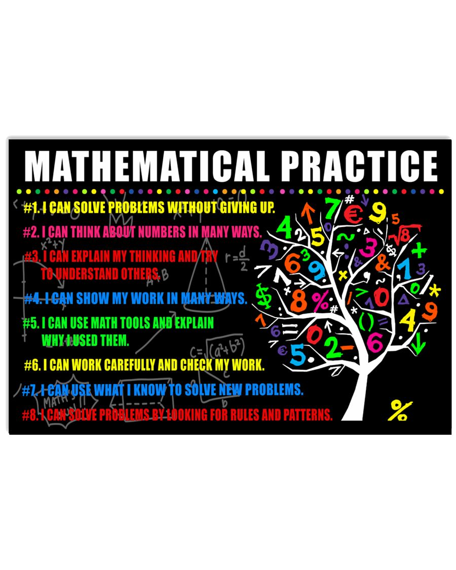 Mathematical Practice 24x16 Poster