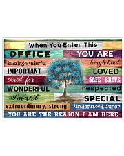Office 17x11 Poster front
