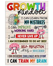 Growth Mindset 11x17 Poster front