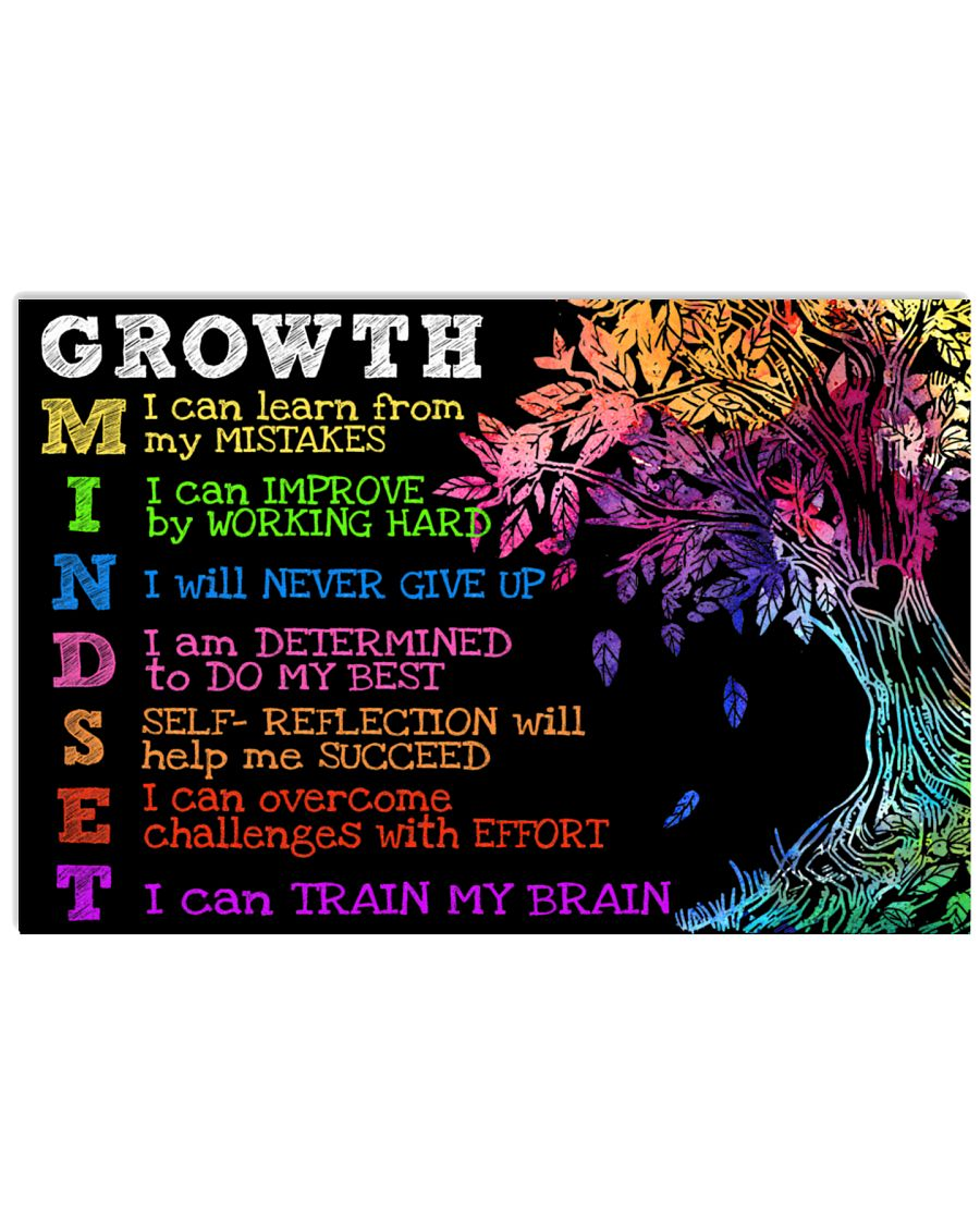 Growth mindset 17x11 Poster