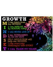 Growth mindset Horizontal Poster tile