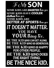 Poster for your kids 11x17 Poster front