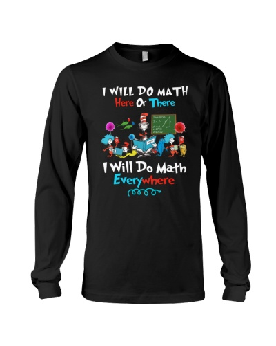 I will do math everywhere