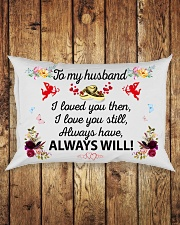Great gift for your husband Rectangular Pillowcase aos-pillow-rectangle-front-lifestyle-2