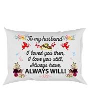 Great gift for your husband Rectangular Pillowcase back