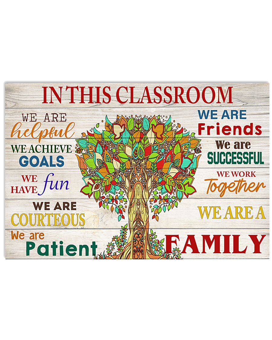In this classroom 17x11 Poster