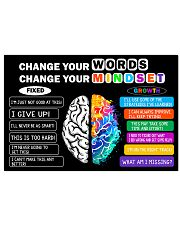 Growth mindset 24x16 Poster front