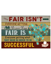 Fair is 17x11 Poster front