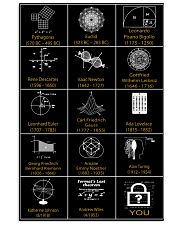 The greatest mathematician 11x17 Poster front