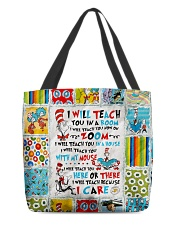 I will Teach All-over Tote thumbnail