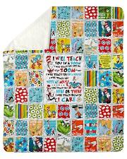 "I will Teach Sherpa Fleece Blanket - 50"" x 60"" thumbnail"