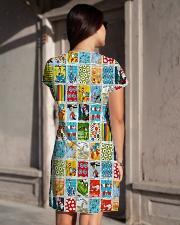 I will Teach All-over Dress aos-dress-back-lifestyle-1