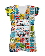 I will Teach All-over Dress front