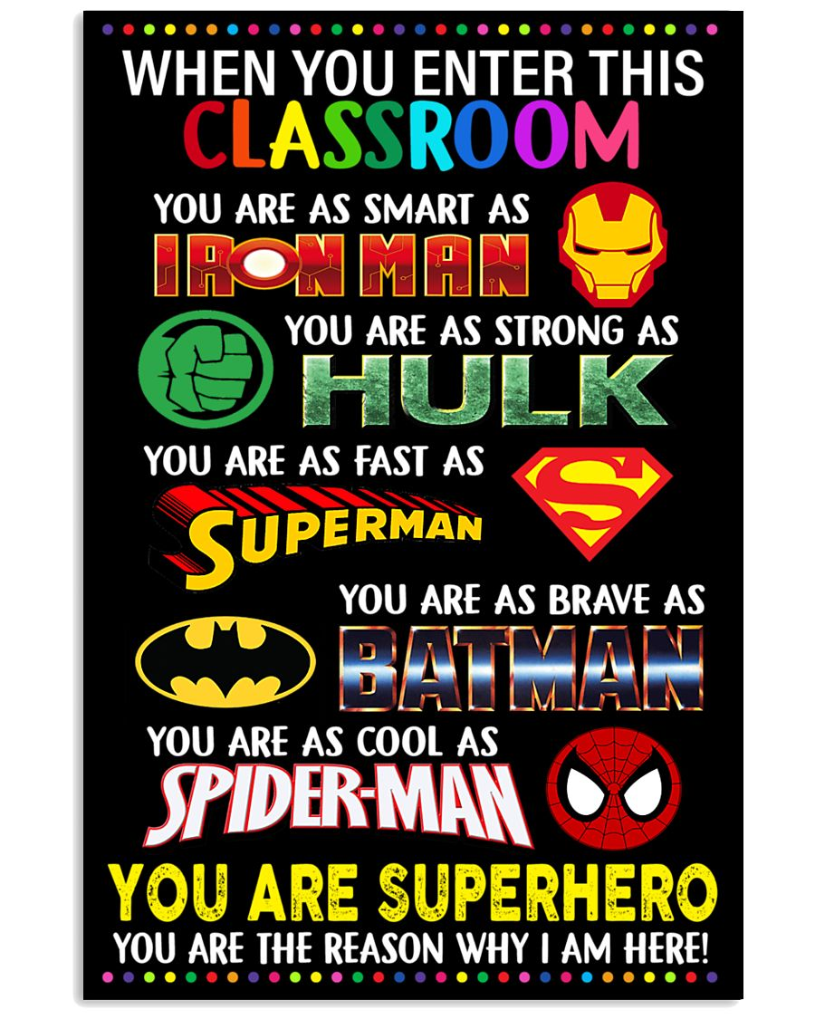 You are superhero 16x24 Poster