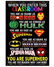 You are superhero 16x24 Poster front