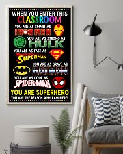 You are superhero 16x24 Poster lifestyle-poster-1