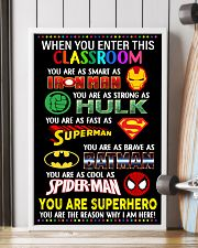 You are superhero 16x24 Poster lifestyle-poster-4