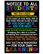 Notice to all student 11x17 Poster front