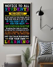 Notice to all student 11x17 Poster lifestyle-poster-1