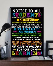 Notice to all student 11x17 Poster lifestyle-poster-2