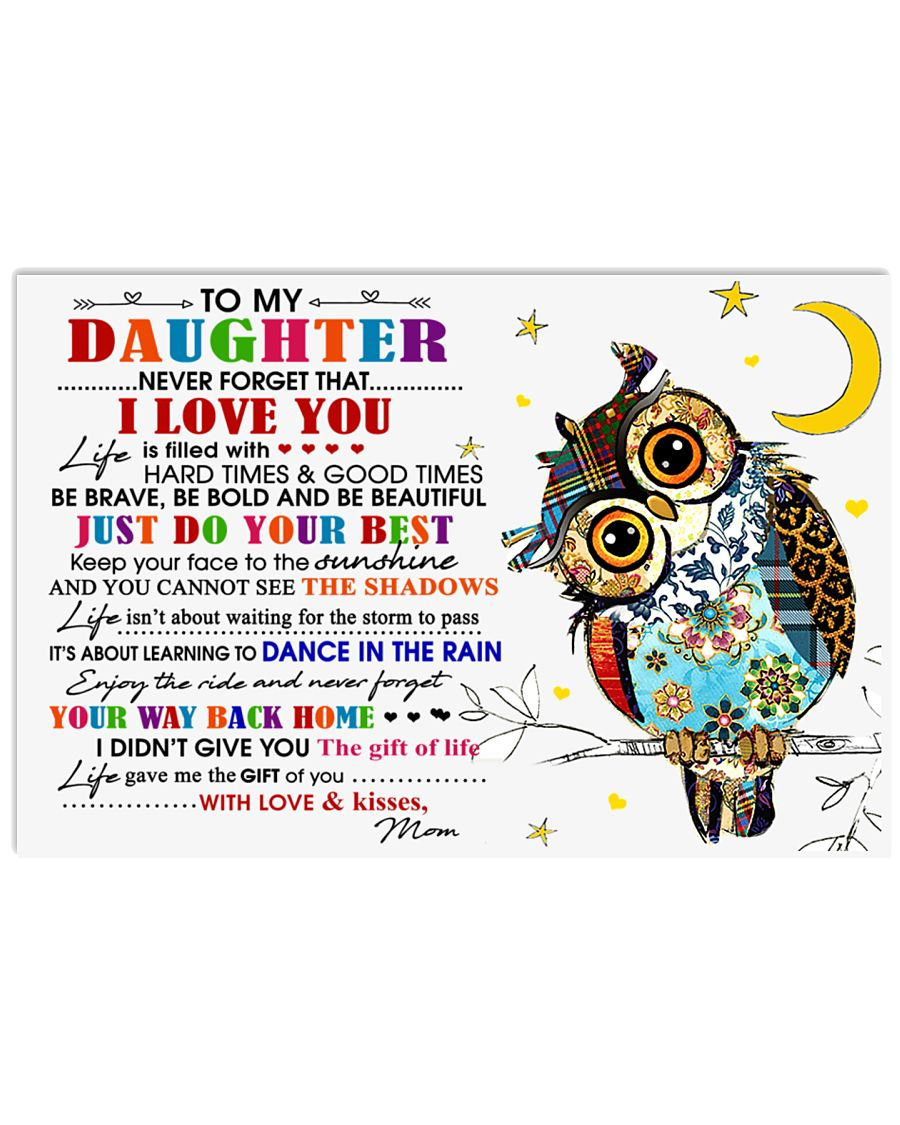 MOM TO DAUGHTER 17x11 Poster