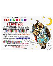 MOM TO DAUGHTER 17x11 Poster front