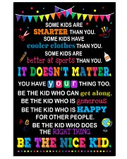 Be the nice kid 11x17 Poster front