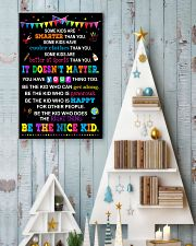 Be the nice kid 11x17 Poster lifestyle-holiday-poster-2
