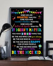 Be the nice kid 11x17 Poster lifestyle-poster-2