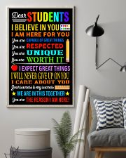 Dear students 16x24 Poster lifestyle-poster-1