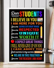 Dear students 16x24 Poster lifestyle-poster-4