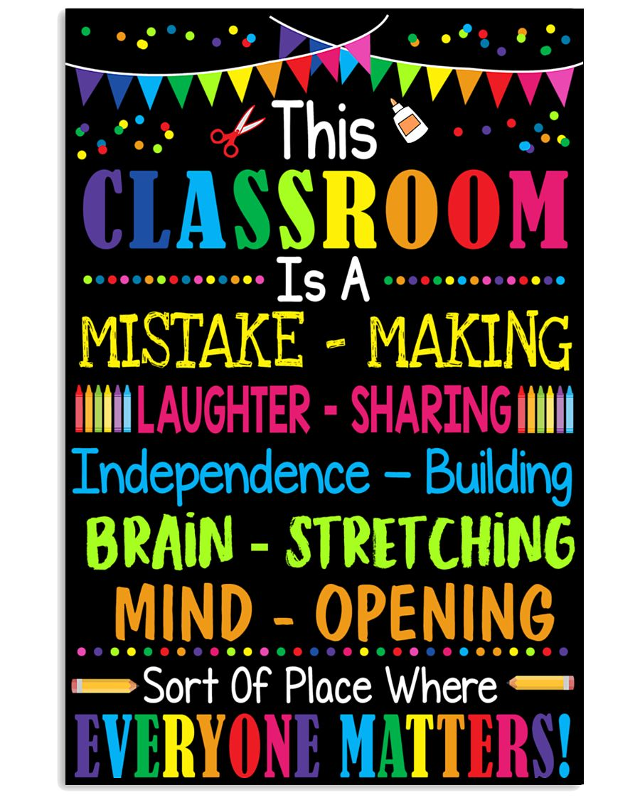 Great poster For Classroom 11x17 Poster