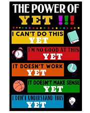 YET 16x24 Poster front