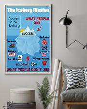 Success is an iceberg 16x24 Poster lifestyle-poster-1