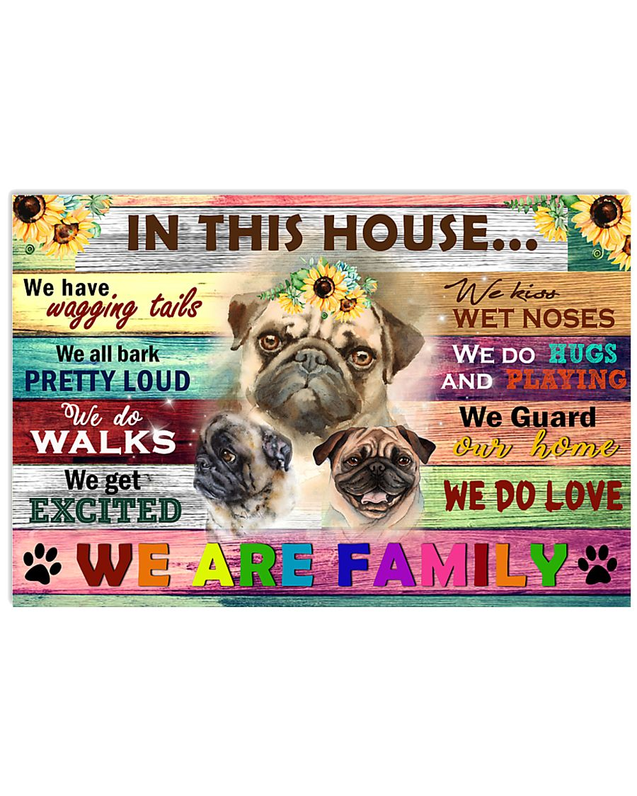 In this house 17x11 Poster