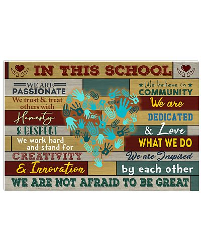 In this school