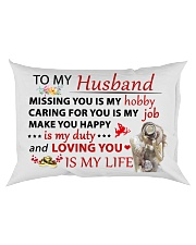 Great gift for your husband Rectangular Pillowcase back