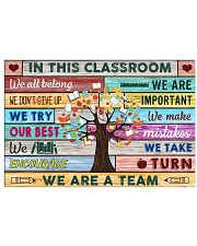 In this classroom 24x16 Poster front