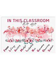 Classroom Flamingo 17x11 Poster front