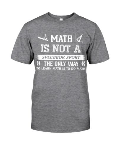 Math is not a spectator sport