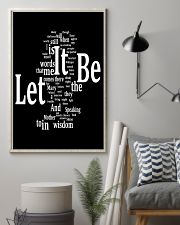 Let it be 11x17 Poster lifestyle-poster-1