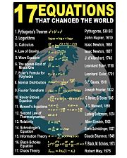 17 equations that changed the world 11x17 Poster front
