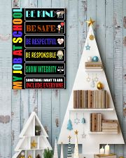My job at school 11x17 Poster lifestyle-holiday-poster-2