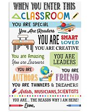 This classroom 11x17 Poster front