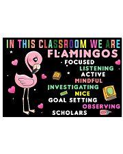 Flamingos 24x16 Poster front