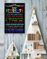 Dear student 11x17 Poster lifestyle-holiday-poster-2