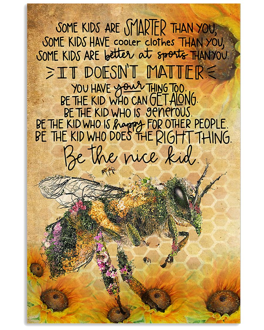 Bee poster 11x17 Poster