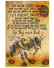 Bee poster 11x17 Poster front